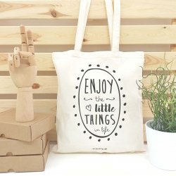 TOTE BAG ENJOY THE LITTLE THINGS